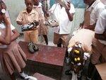HAITI SCHOOL SHOES DISTRIBUTION